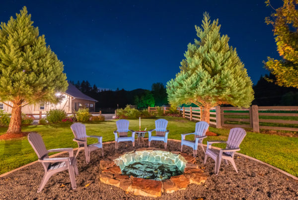 real estate night photography